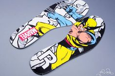 Marvel x Reebok Pump Fury (Wolverine)