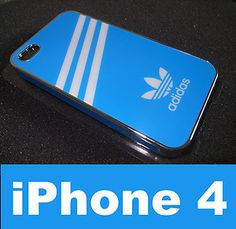 Adidas Blue Chrome Hard Case for #iPhone 4/4S - http://getth.at/e75ja