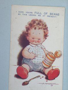 Vintage Kid Comic Postcard / Used by aprilmay72 on Etsy, $5.00