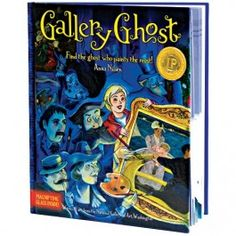Gallery Ghost Art Book & Game $16.97 http://www.educationaltoysplanet.com/gallery-ghost-art-book-game.html