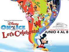 """Ticketpop :: Disney on Ice """"Let's Celebrate!"""" del 4 al 8 de junio de 2014 en el Coliseo de Puerto Rico."""