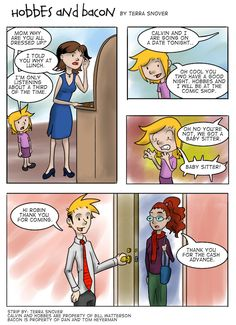 """#4 Hobbes and Bacon: """"The Babysitter Part One"""""""