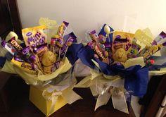 Cadbury sweetie bouquets!