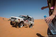 Saut de cabri dans les dunes