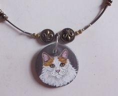 Hey, I found this really awesome Etsy listing at https://www.etsy.com/listing/197442110/turkish-van-cat-bead-necklace-hand