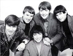 The Animals -  Alan Price, John Steel, Chas Chandler, Hilton Valentine and Eric Burdon in the middle - 1964
