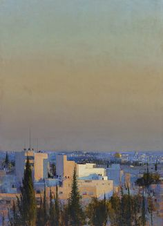 Andrew Gifford - Jerusalem from Mount of Olives 3