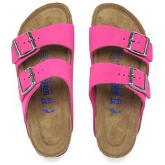 775fd813e7f7 Birkenstock Women s Arizona Slim Fit Suede Double Strap Sandals (145 CAD) ❤  liked on