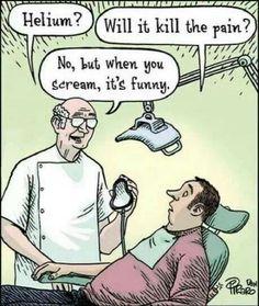 Lachgas bij de tandarts?