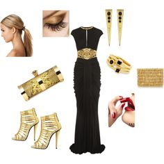 """""""Modern Egyptian"""" by nessa4476 on Polyvore"""