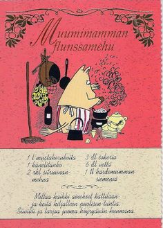 Albumiarkisto Old Recipes, Baking Recipes, Finnish Recipes, Tove Jansson, Baking With Kids, Fodmap Recipes, Orange Crush, Moomin, New Things To Learn