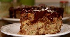 Jabłecznik bezglutenowy z polewą czekoladową,szarlotka bezglutenowa,szarlotka bez glutenu,zdrowa szarlotka,ciasto z owocami,ciasto z jabłkami