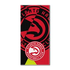 "Hawks National Basketball League, """"Puzzle"""" 34""""x 72"""" Over-sized Beach Towel"
