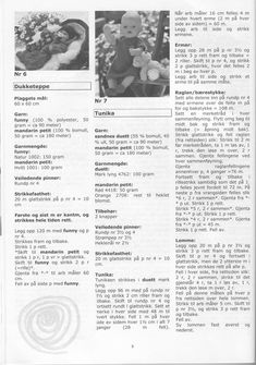 Album Archive - Dukketøj til Baby Born 2 - Ingelise Knitted Doll Patterns, Knitted Dolls, Doll Clothes Patterns, Baby Knitting Patterns, Clothing Patterns, Baby Doll Clothes, Baby Dolls, Baby Born, Album