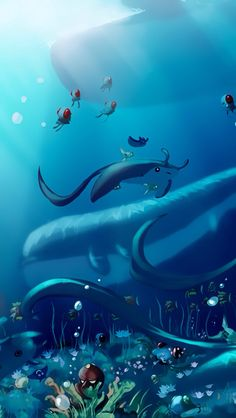 Underwater Pokemon