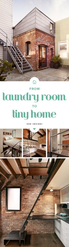 This modern tiny home has lots of decor ideas for anyone looking to do a remodel in the smallest of spaces.