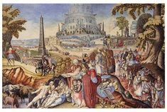 Nimrod and the Tower of Babel. Tower Of Babel, 18th Century, Tours, Painting, School, Art, Novels, Rome, Art Background