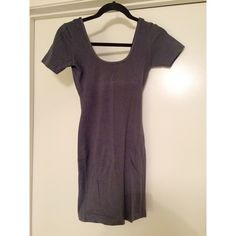 AA Double U Short Sleeve Bodycon Dress Worn twice, both for Halloween costumes. This dress is tight fitting and can be layered, hiked up and used as a shirt, the options are endless. American Apparel Dresses Mini