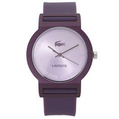 Relógio Lacoste Feminino Borracha Roxa - 2020075