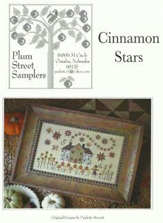 Cinnamon Stars - Plum Street Samplers.
