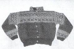Setesdal Norwegian Knitting, Jumpers, Knitting Patterns, Diva, Men Sweater, Sweaters, Jackets, Vintage, Fashion