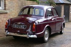 1963 Wolseley 1500 Mk III  Maintenance/restoration of old/vintage vehicles: the material for new cogs/casters/gears/pads could be cast polyamide which I (Cast polyamide) can produce. My contact: tatjana.alic@windowslive.com