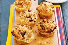 Delicious and healthy, these light muffins make a great lunch box treat.