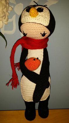 Penguin mod made by Judith B. / based on a lalylala crochet pattern