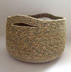 Artesania en esparto - Cestas hechas en esparto - Cuencos de esparto - Cestas ecológicas