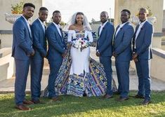 South African Wedding Magazine featuring helpful articles and weddings to help you plan a gorgeous wedding with a flavour of culture African Party Theme, African Wedding Theme, African Wedding Attire, African Traditional Wear, Nigerian Traditional Wedding, Traditional Wedding Attire, Wedding Color Schemes, Wedding Colors, Stranger Things