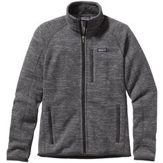 Patagonia Men's Better Sweater Fleece Jacket ❤ liked on Polyvore featuring mens, men's clothing, men's outerwear and men's jackets