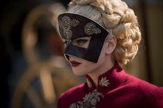 Stefanie Martini as Lady Ev - Emerald City Camila Sanchez, Evans, Steampunk, Ex Machina, Emerald City, Movie Costumes, Dragon Age, Costume Design, Masquerade