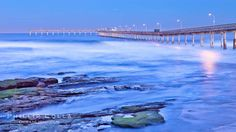 Ocean Beach Pier, also known as the OB Pier or Ocean Beach Municipal Pier, is the longest concrete pier on the West Coast measuring 1971 fee...