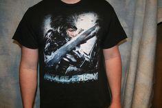 Metal Gear Rising Revengance Men's Large t-shirt, black, short sleeve, L, Konami #Konami #GraphicTee