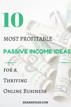 Looking for a cool list of Passive Income Ideas to Kickstart Your Online Business With Minimal Investment? This post is custom made for you and will help you make passive income staying at home. Click through to read the entire post.http://hearmefolks.com/best-passive-income-ideas