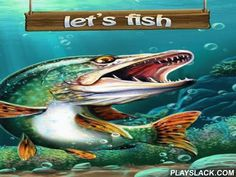 Let's Fish  Android Game - playslack.com , Prepare your fastening  and go fishing. attempt to capture the biggest fish. Visit many non-identical water bodies. Fish in non-identical points of the Earth in this Android game. gathering a formation into streams of Alaska, Baikal lake, Norwegian inlets and non-identical seas. capture all categories of fish from tiny carps to enormous elasmobranches. sharpen your abilities, characteristics and purchase brand-new wheel like fishing implements…