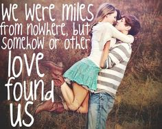 I love my boyfriend :) this feels like us