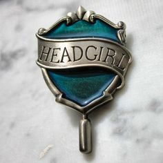 Ravenclaw headgirl pin, i need this !!!// I need it as well but in boy version !!!