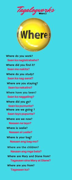 learn Tagalog speak Tagalog Filipino learn Filipino Philippines How to Tips lesson 2018 new learn tagalog fast learn tagalog for beginners Tagalog Words, Tagalog Quotes, Korean Words Learning, Learning English For Kids, Reading For Grade 3, Questions To Ask, This Or That Questions, Filipino Words, Good Vocabulary Words