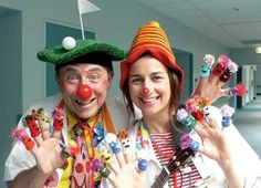 Really... I don't like clowns (only Popov) but I love the Clini clowns (Clown Doctors)!!!