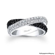 barkev's black diamond ring - My Engagement Ring