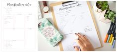 Planner à imprimer - planification vidéo Organiser, Budgeting, Creations, Bullet Journal, Organization, How To Plan, Diy, Animation, Day Planners