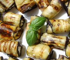 Eggplant Aubergine And Feta Rolls Recipe - Genius Kitchensparklesparklesparklesparkle