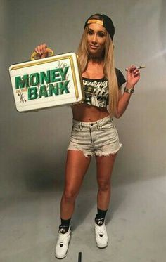 WWE Ms. Money in the Bank Carmella