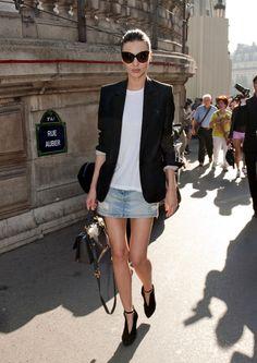 Miranda Kerr Attending Stella McCartney Fashion Show