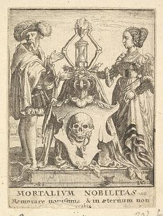 Death's Coat of Arms, from the Dance of Death  Wenceslaus Hollar (Wenzel Vaclav)  (Bohemian, Prague 1607–1677 London)  Artist: After Hans Holbein the Younger (German, Augsburg 1497/98–1543 London) Date: 1651 Medium: Etching; second state of four Classification: Prints Credit Line: The Elisha Whittelsey Collection, The Elisha Whittelsey Fund, 1951 Accession Number: 51.501.2141