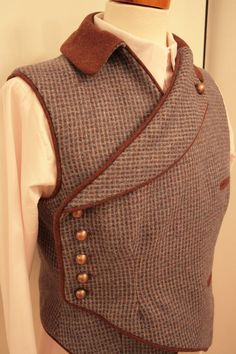 waistcoat a little bit different   by martinK    I am in love with this designer!