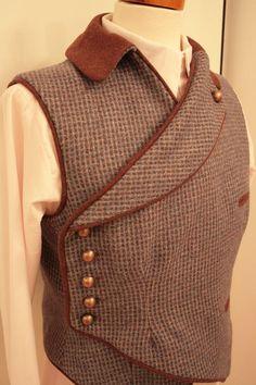 steampunk waistcoat by melody Costume Steampunk, Style Steampunk, Steampunk Men, Steampunk Clothing, Steampunk Fashion, Renaissance Clothing, Steampunk Vetements, Fur Waistcoat, Neo Victorian
