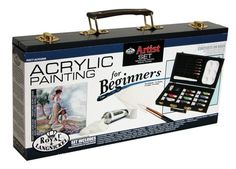 Royal and Langnickel Acrylic Painting Artist Set for Beginners - http://www.craftsandfun.com/royal-and-langnickel-acrylic-painting-artist-set-for-beginners-2/  #craftideas #artsandcrafts #craftsforkids