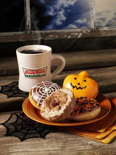 Krispy Kreme Coffee pairs well with any of our special holiday doughnuts. (Krispy Skremes! Doughnuts- 2011)